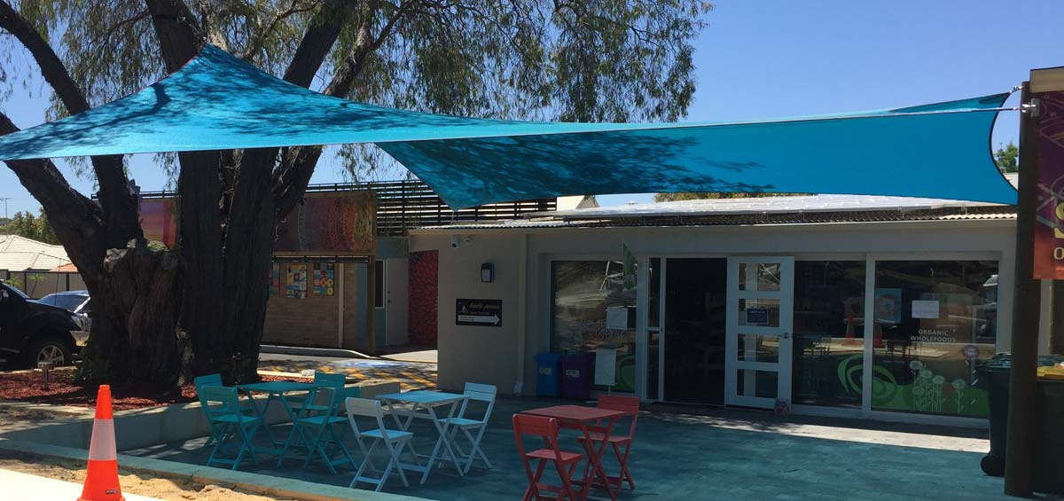 Cafe Shade Sails & Waterproof Structures