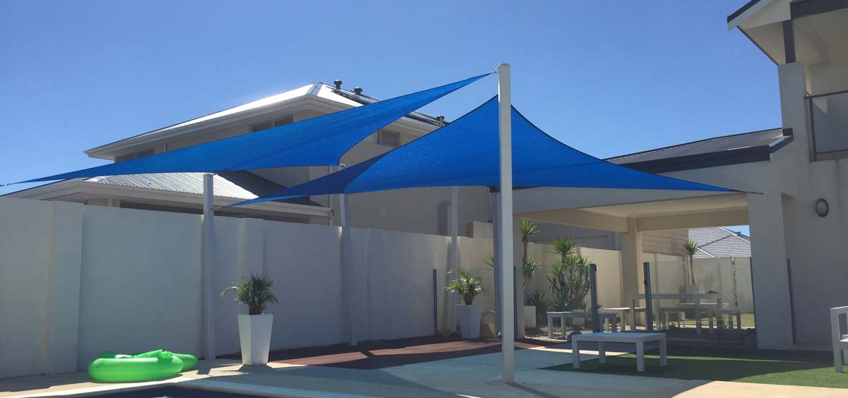 Backyard Shade Sails & Waterproof Structures
