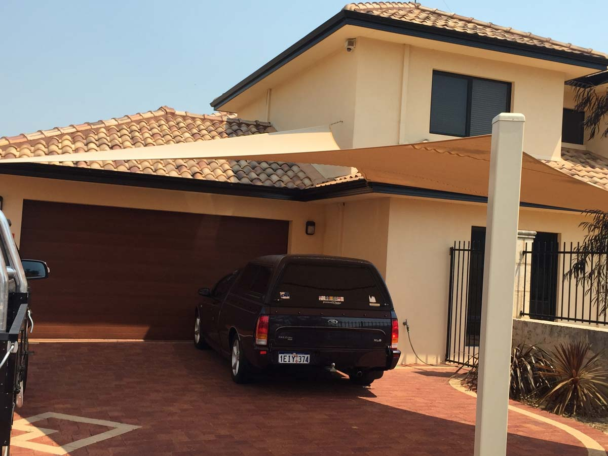 Car Caravan Shade Sails Mandurah Structures Sails Marine Services