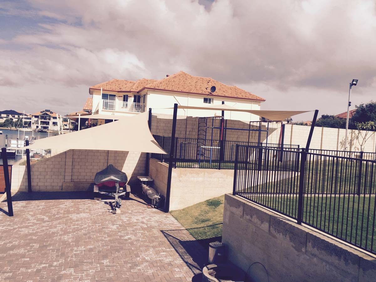 Shade Sails Mandurah Structures Sails Marine Services
