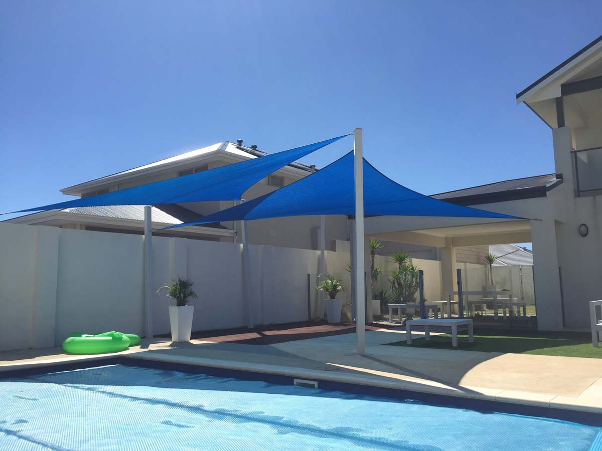 Pool Shade Sails – Mandurah Structures Sails & Marine Services