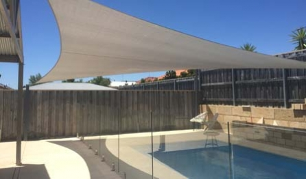 Pool Shade Sails & Waterproof Structures